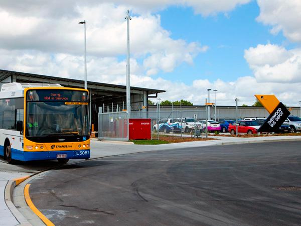 Brisbane City Council Bus Depot Sherwood Brisbane