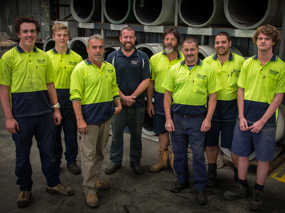 The Northside Roofing Sheet Metal Manufacturing & Factory Team